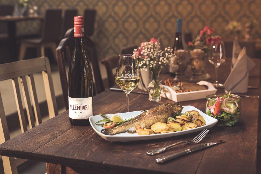 Brentanohaus Wein und Fisch